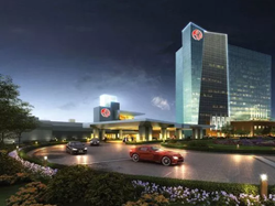 A render of the New York casino.