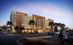 A rendering of the new hotel being constructed at Casino Del Sol in Tucson.
