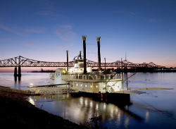 A riverboat casino in Mississippi.