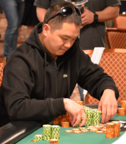 Aditya Prestyo has a huge chip lead heading into Day 4 of the Colossus.