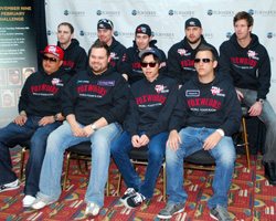 All nine members of the 2010 Main Event final table reunited Tuesday at Foxwoods Casino in Connecticut
