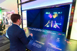 Among the new highlights at The LINQ is the first gesture-controlled hologram game found in a casino.