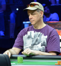 Anthony Blanda was the lone recreational poker player to make the final table.