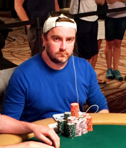 Antoine Saout from France is making a rare trip back to the WSOP Main Event final table.