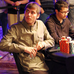 Anton Morgenstern is the chip leader with 21.955 million.