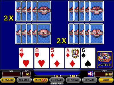 At this point, the players would once again change position, and the player picked to be a loser would take over the machine with a low multiplier.