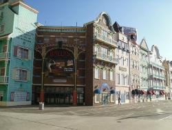 Bally's Atlantic City, Wild West Casino entrance
