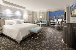 Bellagio unveils new guest room designs and upgraded amenities.