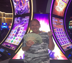 Bells were ringing, lights were flashing, customers were cheering and Cathy was $779,384.13 richer!