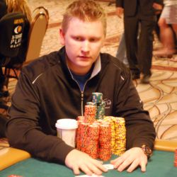 Ben Lamb continued his stellar run by building his chip stack to 4.032 million.
