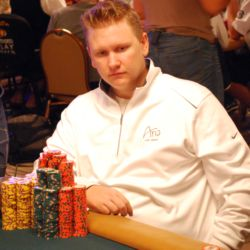 Ben Lamb does not have the chip lead. But after passing Phil Hellmuth in the WSOP Player of the Year race today, he is clearly the person to beat at the Main Event.