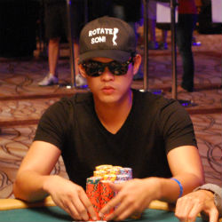 Benjamin Alcober was the first player to crack the 1-million chip barrier. But he ended the night with 789,500.