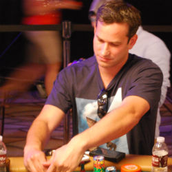 Brian Borovay sits down to play in his first WSOP Main Event and finds Phil Galfond at his table.