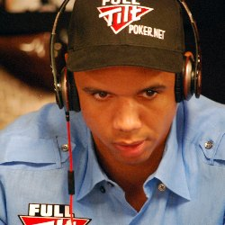 Brian Wilke had the pleasure of feeling Phil Ivey
