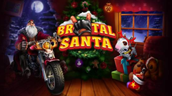 Brutal Santa rides a motorbike, loves rock and has gifts galore for those who have been naughty instead of nice.
