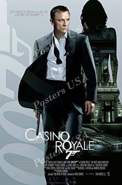 Casino Royale features several intense poker scenes that are likely to keep you at the edge of your seat.
