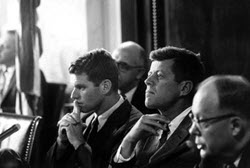Chief Counsel Robert F. Kennedy and John F. Kennedy.