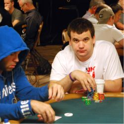 Christian Harder (right) earned more than $3 million playing online poker.