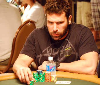 Dan Bilzerian had a strong day and has over 200,000 chips.