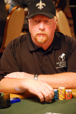 Darvin Moon will not make a repeat appearance at the final table.