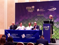 Day 1 of the Global Gaming Expo (G2E) in Las Vegas featured multiple industry seminars.