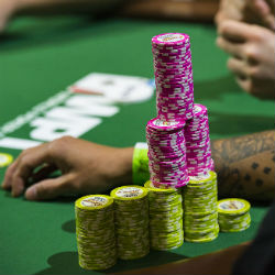 Depending on your chip stack, there are different strategies to consider throughout a poker tournament.