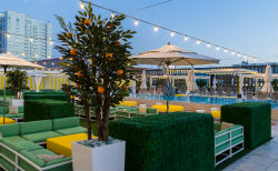 Downtown Grand Las Vegas opened Citrus at the Grand Pool Deck in March.