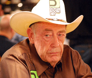 Doyle Brunson got a round of applause after busting out of the Main Event.