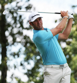 Dustin Johnson is one of the betting favorites at the Masters this week.