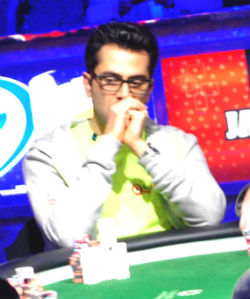 Esfandiari is looking to repeat as the One Drop champion at the World Series of Poker.