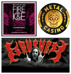 Fire and Ice thanks Metal Casino for sponsoring and helping make this a true Rock Star event, and the Vandals Motorcycle Club.