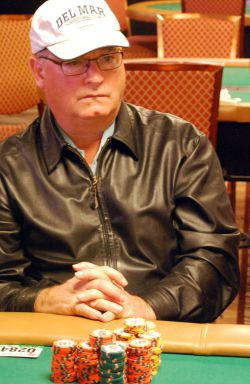 Former Main Event champion Jim Bechtel was eliminated from the tournament Sunday.
