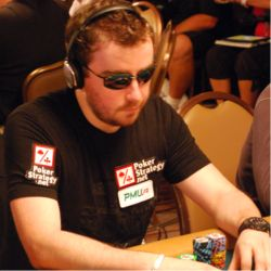 Former November Niner Antoine Saout represented PMU.fr, also a French-based poker room.