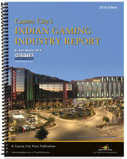 Gaming revenue at Indian gaming facilities nationwide grew approximately 3.9% in 2016.