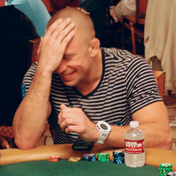 Georges St. Pierre tries hard. He just does not know much about poker.