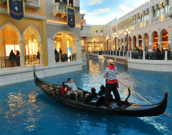 Gondola pilots wearing face masks is one of the new protocols being implemented at the iconic Las Vegas Strip casino resort.