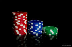 If you try to play higher stakes before you are ready, your chip stack will likley vanish rather quickly.