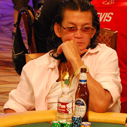 All over baby. Scotty Nguyen busted out of the Main Event Sunday.