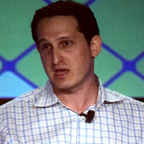 Jason Robins, CEO of DraftKings, explains how DFS differs from traditional sports betting at G2E in Las Vegas on Tuesday.