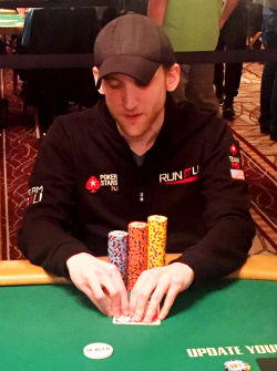 Jason Somerville was one of the notable players to bust out of the WSOP Main Event on Friday.