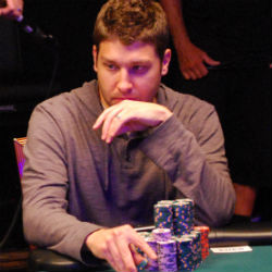 Jeremy Ausmus is among the chip leaders at the WSOP Main Event.
