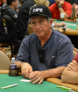 Jerry DeRosa was one of nine Poker Jokers to come from Riverside, Calif., for the Colossus.