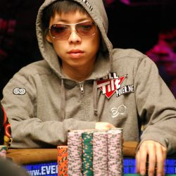 Joe Cheong was able to rebound from a tough beat early to finish in third chip position.