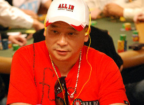Johnny Chan could do no wrong on Wednesday.
