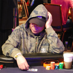 Johnny Chan showed Saturday he was a threat to win the Main Event.