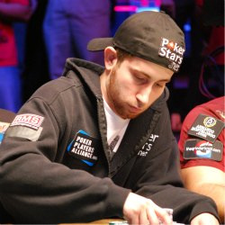 Jonathan Duhamel started play Saturday as the chip leader, and he ended play Saturday night as the heavy favorite to win the Main Event.