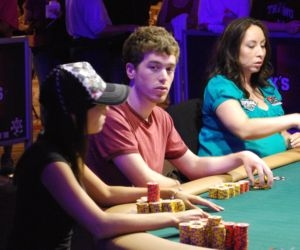 Jonathan Epstein stuck out at the final table of the ladies