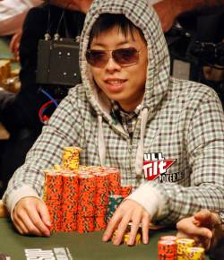 Joseph Cheong is one of four players with more than 3 million chips.