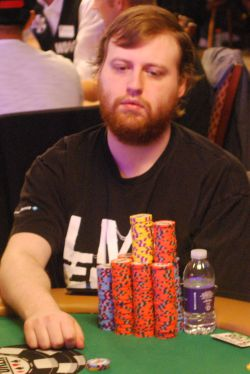 Joseph McKeehen is one of two players with more than 3 million in chips at the WSOP Main Event.