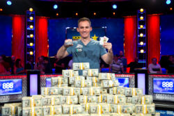 Justin Bonomo won his third WSOP gold bracelet, and has now won just shy of $25 million in the last seven months.